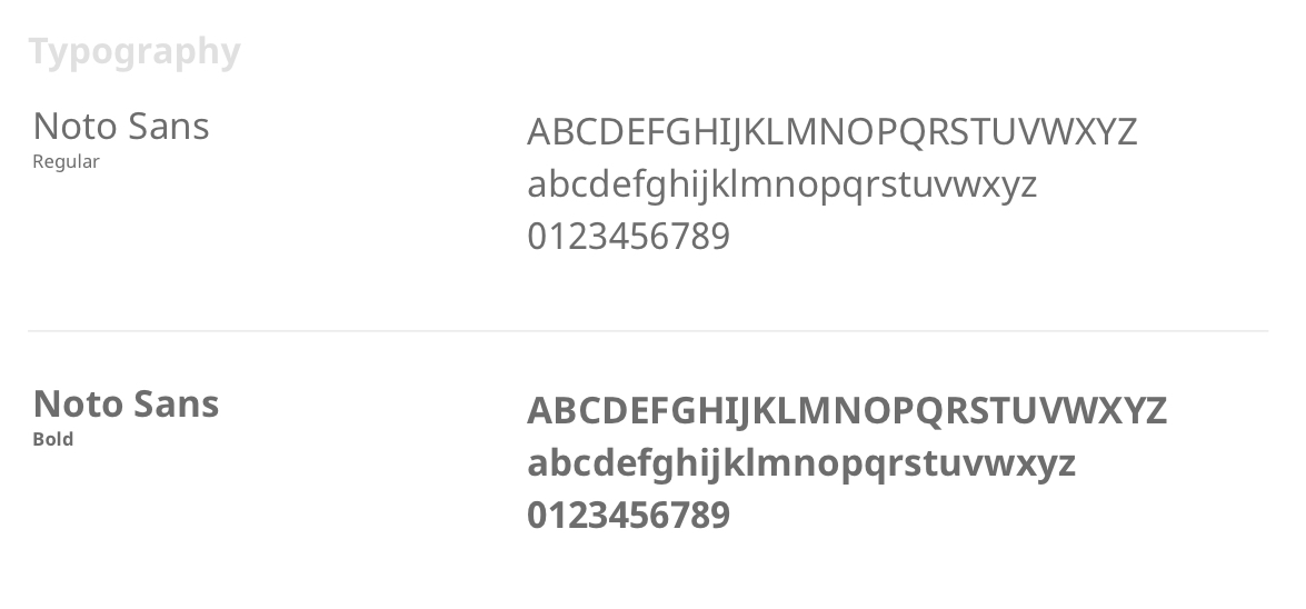 DisputeBills typography is a highly legible sans serif font.
